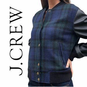 J. Crew- Varsity Jacket